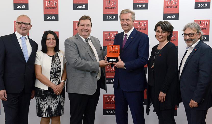 Die DBZWK erhält Auszeichnung zum Top Consultant 2018