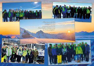 DBZWK Teambuilding auf der Zugspitze