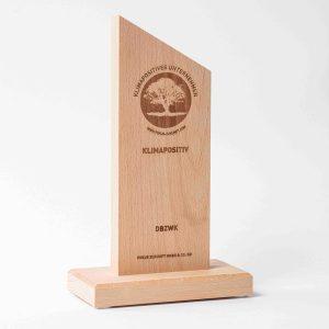 Auszeichnung klimapositives Unternehmen